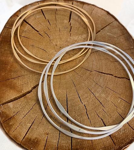 Set of 3 Bangle Bracelets