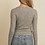 Thumbnail: Grey Knit Cardigan