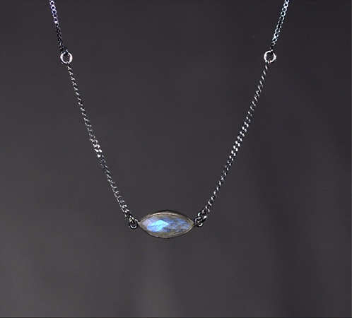 Short Labradorite Necklace