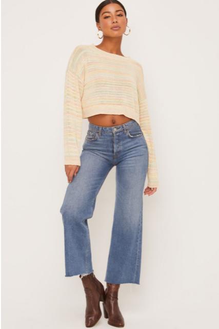 Pastel Stripe Sweater