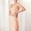 Thumbnail: Floral and Eyelet Print Mini Dress