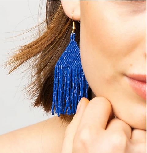 Luxe Petite Fringe Earring
