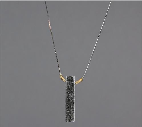 Black Rutile Delicate Chain