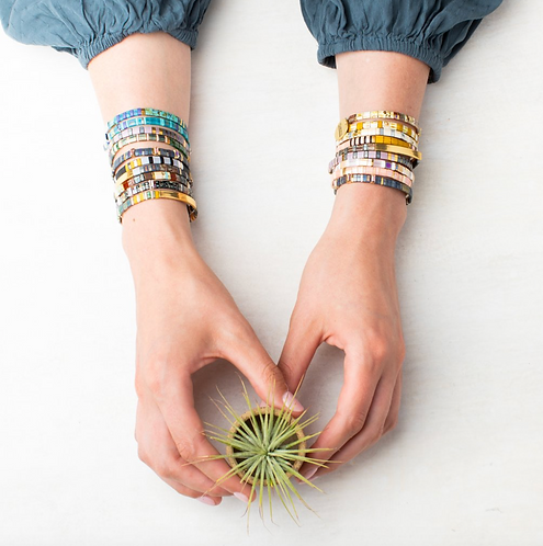Miyuki Charm Bracelet