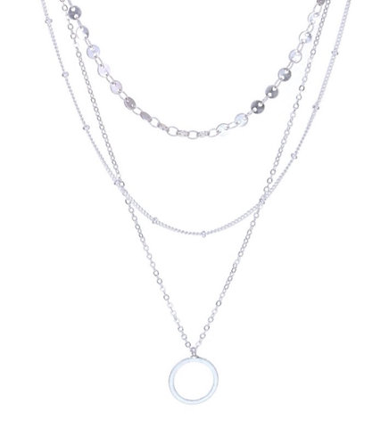 Three Layer Chain Necklace
