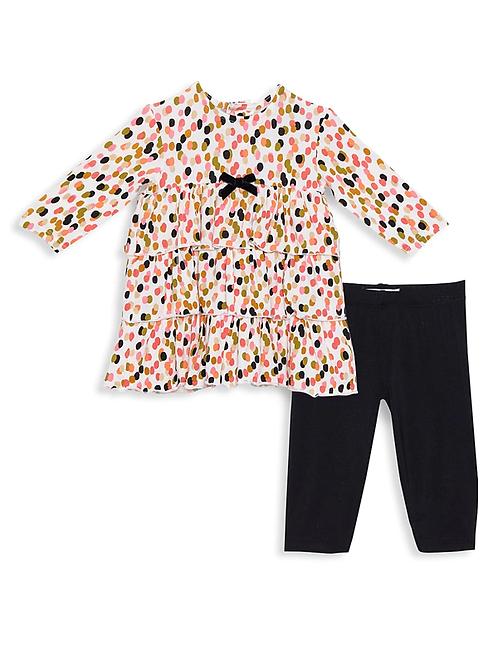 Modal Dress & Pants Set