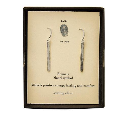 Roimata Earrings - silver