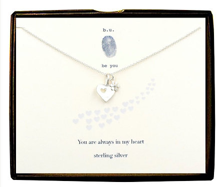 You are always in my heart - silver