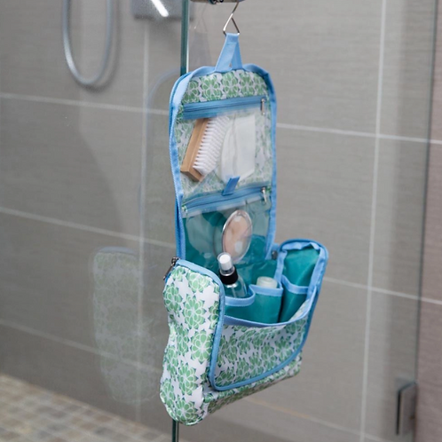 Succulent Hanging Toiletry Bag