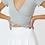Thumbnail: Short Sleeve Merrow Surplice Top