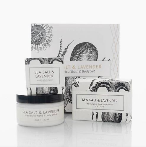 Sea Salt & Lavender Set