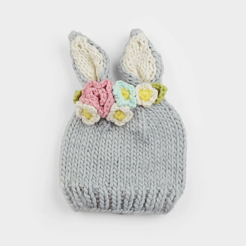 Acrylic Hand Knit Hat