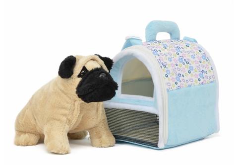 Dog Carrier w/ Pug