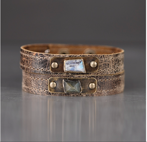Brown Stacker bracelet