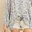 Thumbnail: Floral Button Tie Top