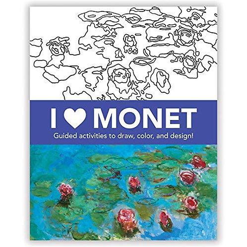 Monet Coloring Book