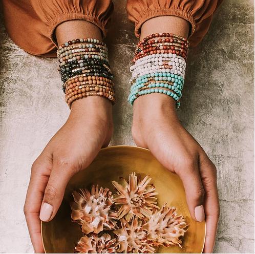 Stone Wrap Bracelets