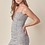 Thumbnail: Ruched Gingham Sleeveless Dress