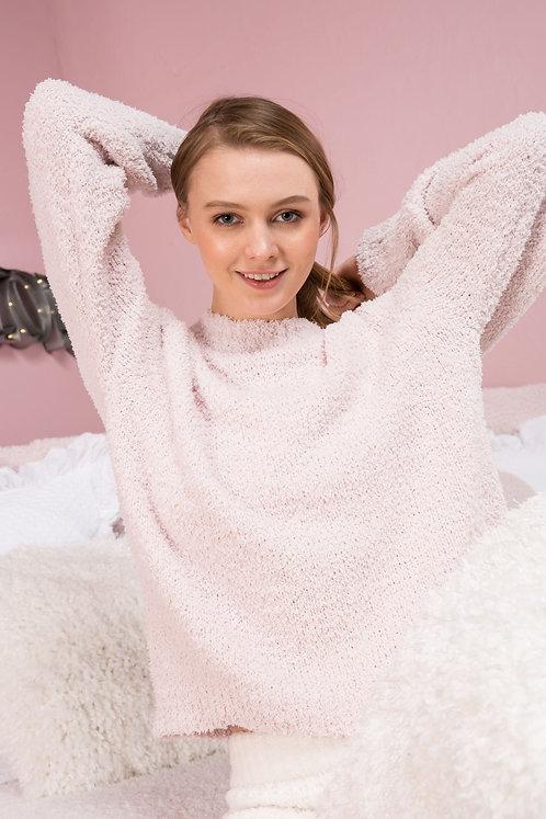 Berber Fleece Crewneck Sweater