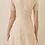 Thumbnail: Cream V Neck Dress