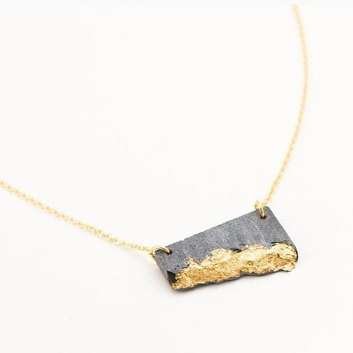 Concrete Fractured Necklace - Small