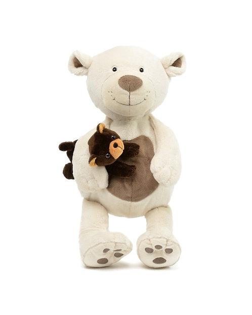 Patchies Bear w/ Baby