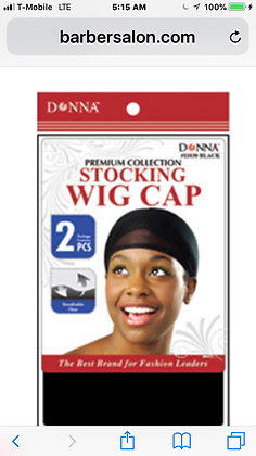 Wig Cap -Tan Only