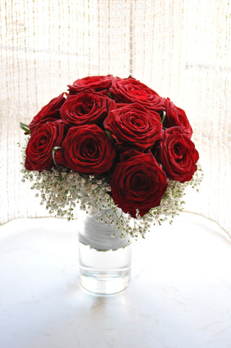 Svatba rudé růže