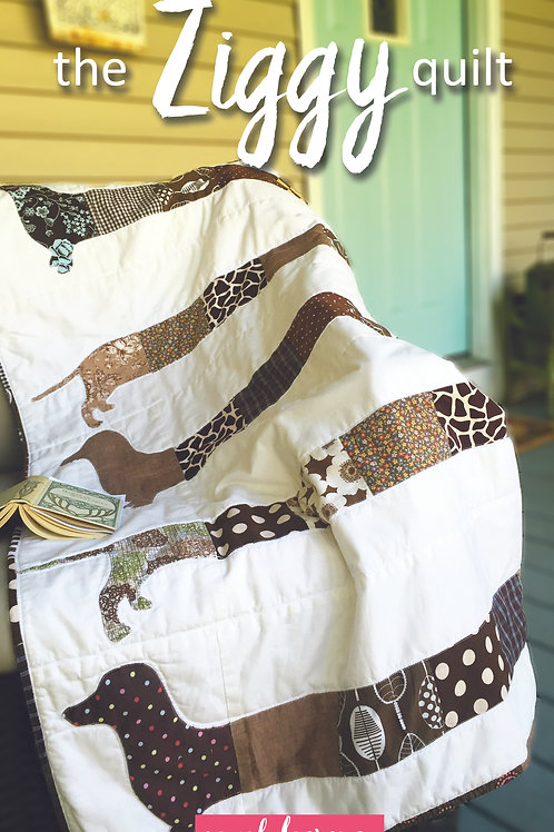 The Ziggy Quilt Sewing Pattern