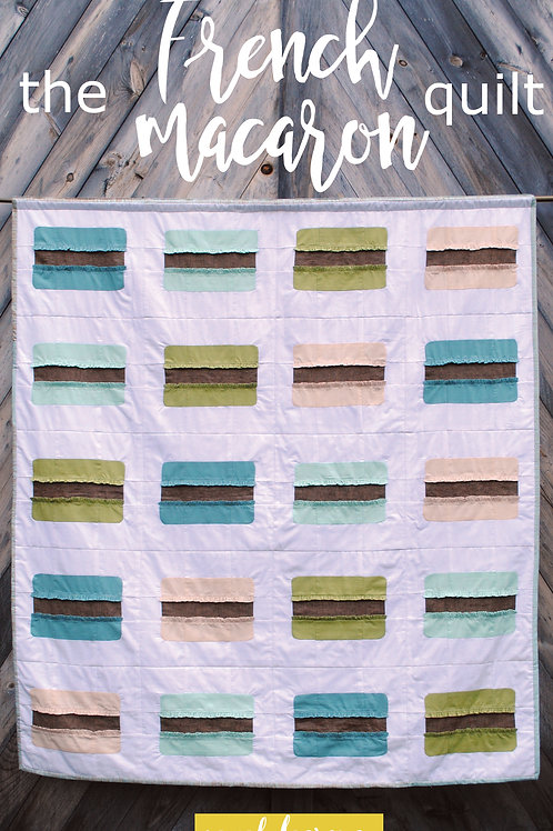 The French Macaron Sewing Pattern