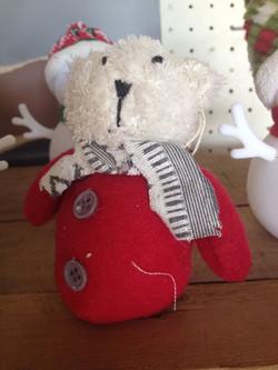 Polar Bear Plush Ornament