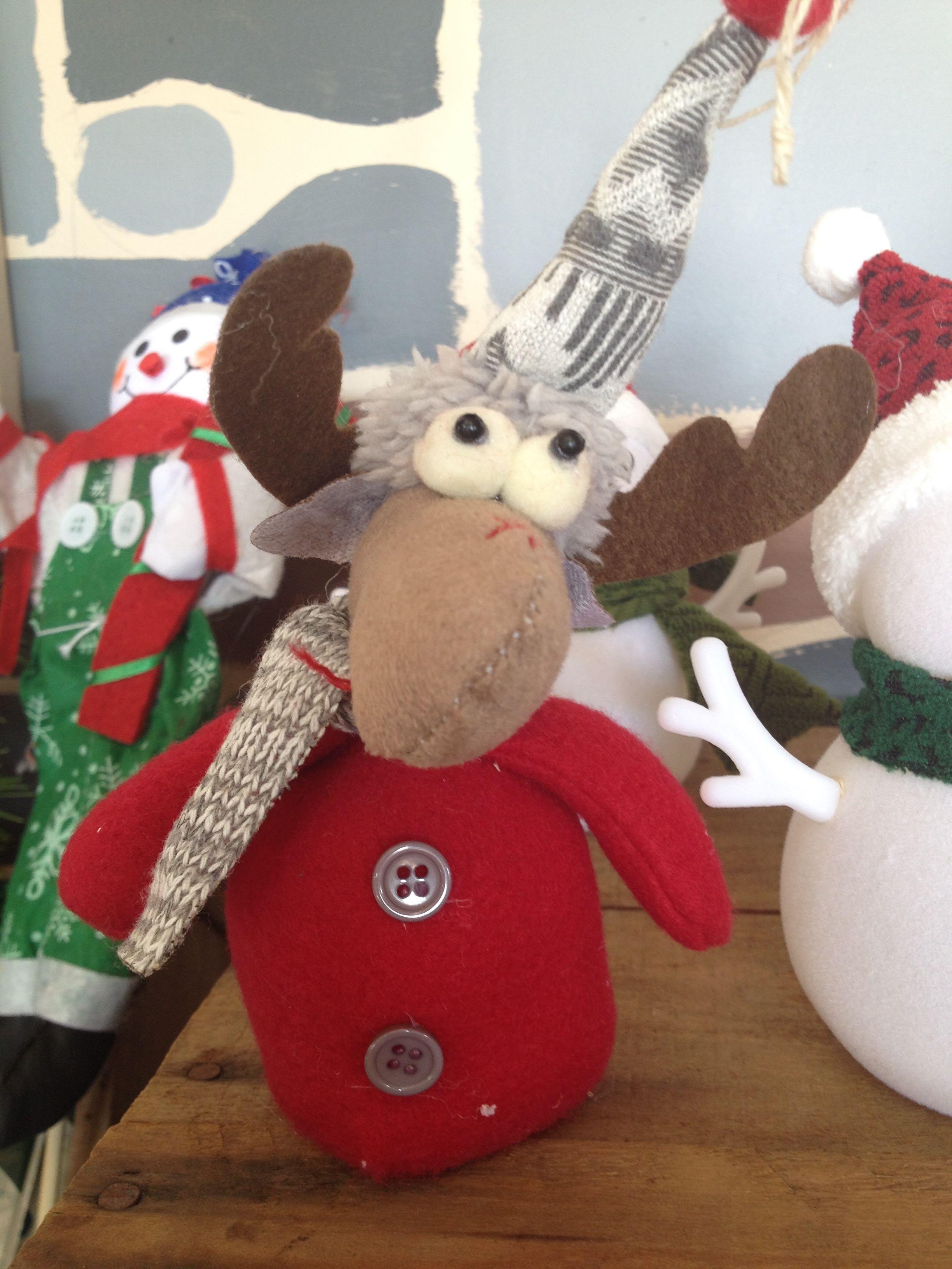 Moose Plush Ornament