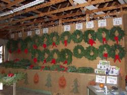 undecorated wreaths