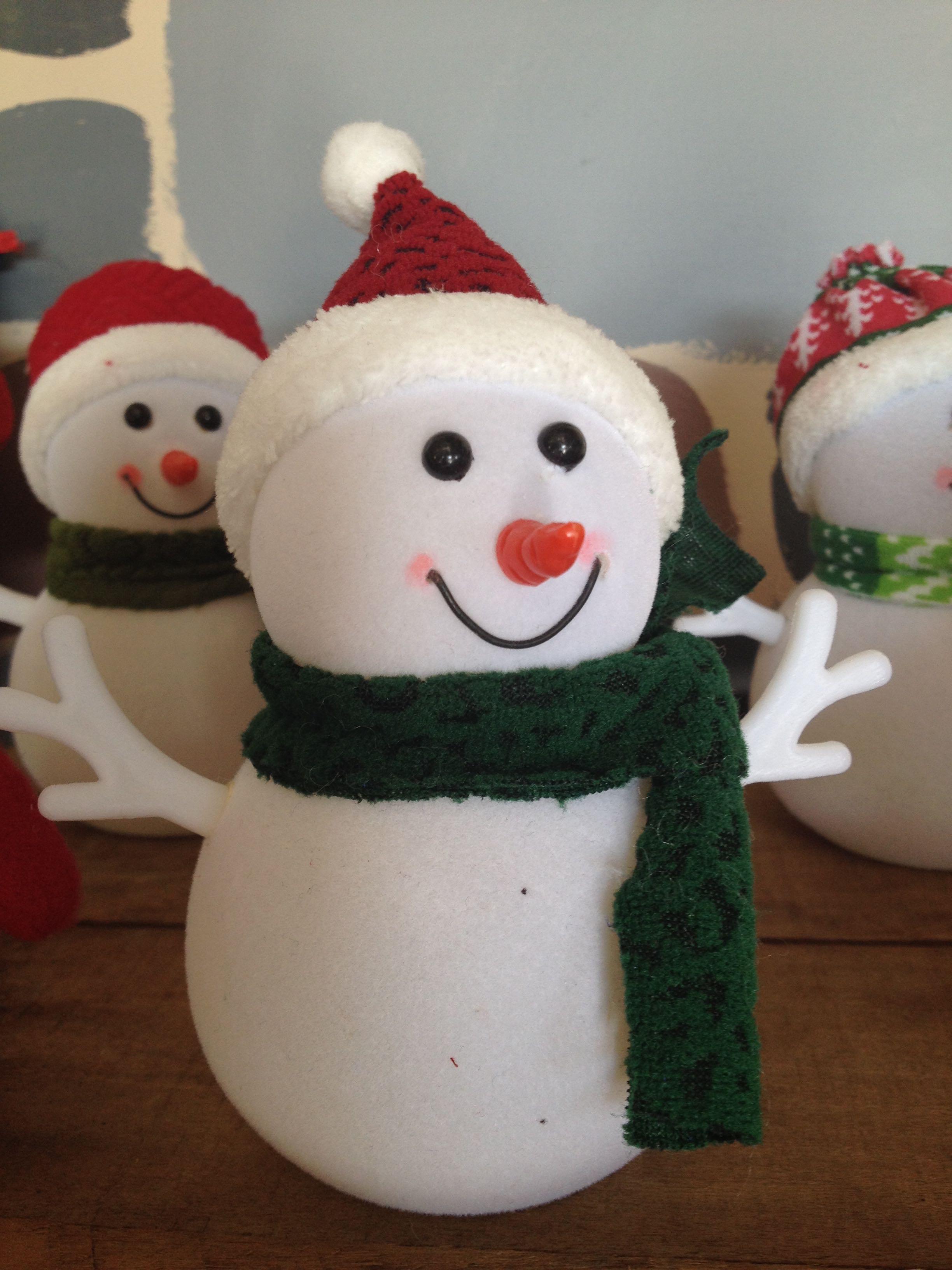 Light-up Snowman