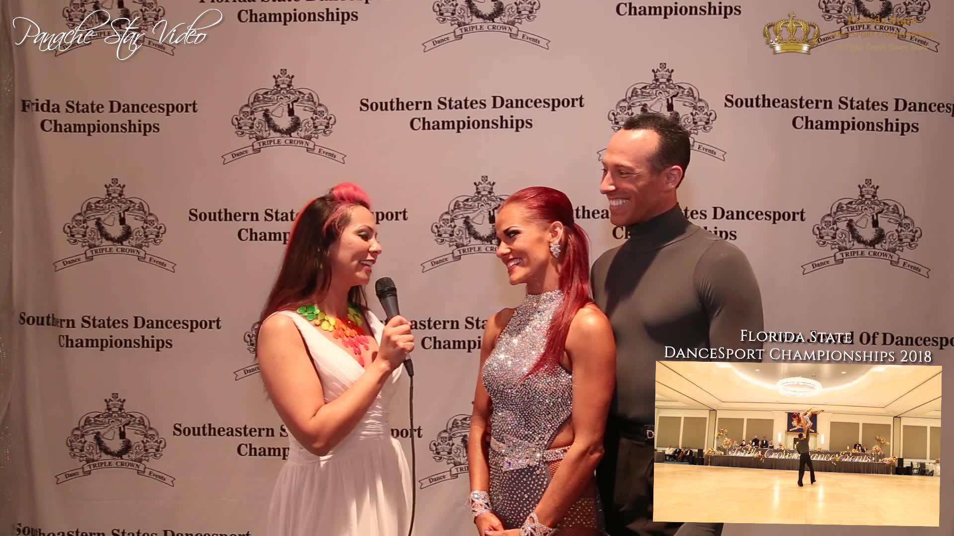 Shane & Shannon Jensen I Florida State DanceSport Championships 2018