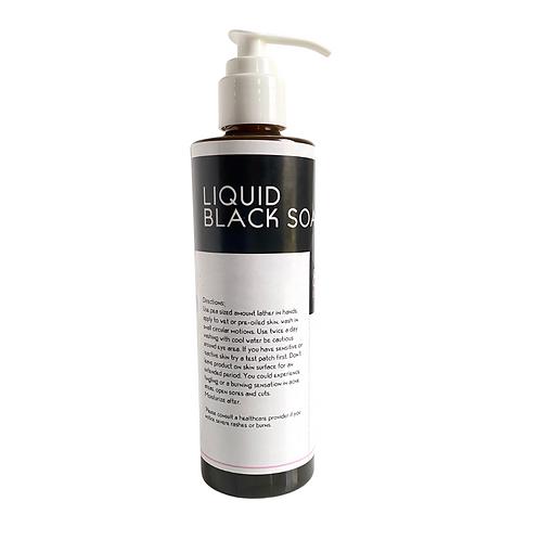 Liquid Black Soap 8oz