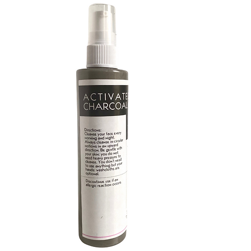 Activated  charcoal  cleanser