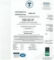 Сертификат за исо