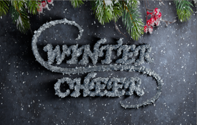 Fun winter project using mograph text in Cinema 4d and compositing in After Effects.
