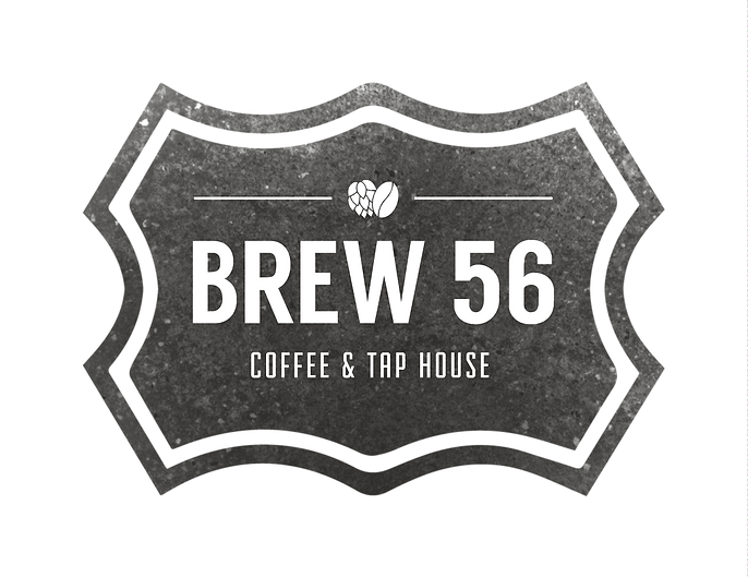 Brew 56 Coffee and Tap House Logo