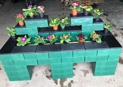 A larger planter chosen by one of our clients.