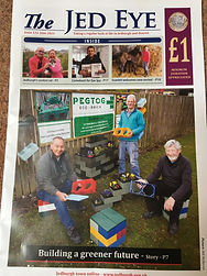 An article created in the Jed Eye magazine . Scottish Borders