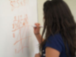 image: student working on math