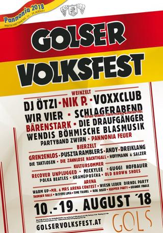 19. August: Golser Volksfest