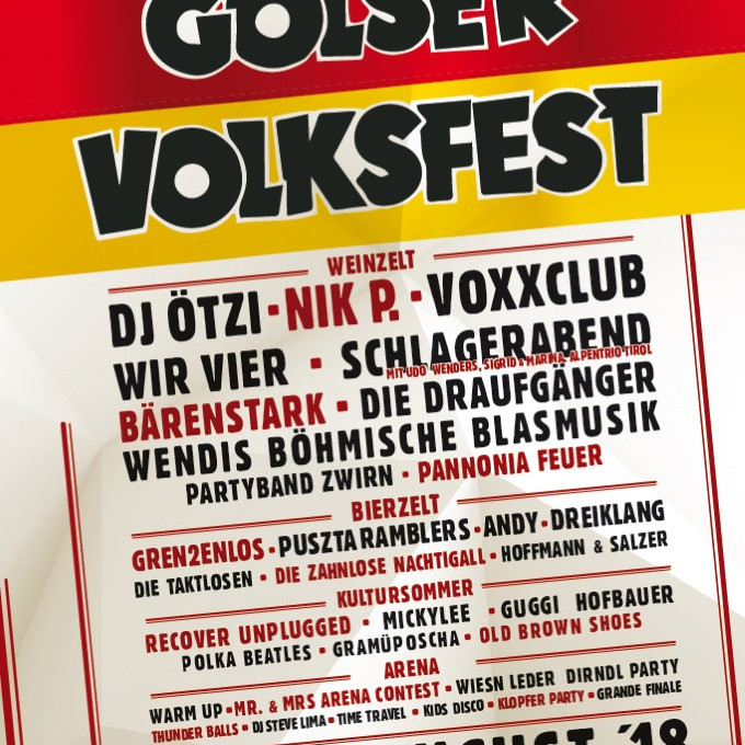 So., 19. August: Golser Volksfest