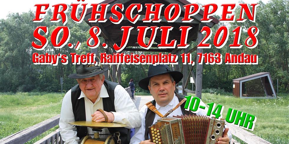 8. Juli 2018: Frühschoppen in Andau