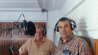 Horst und Janosch im Tonstudio