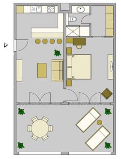 Plan Deluxe Suite 312