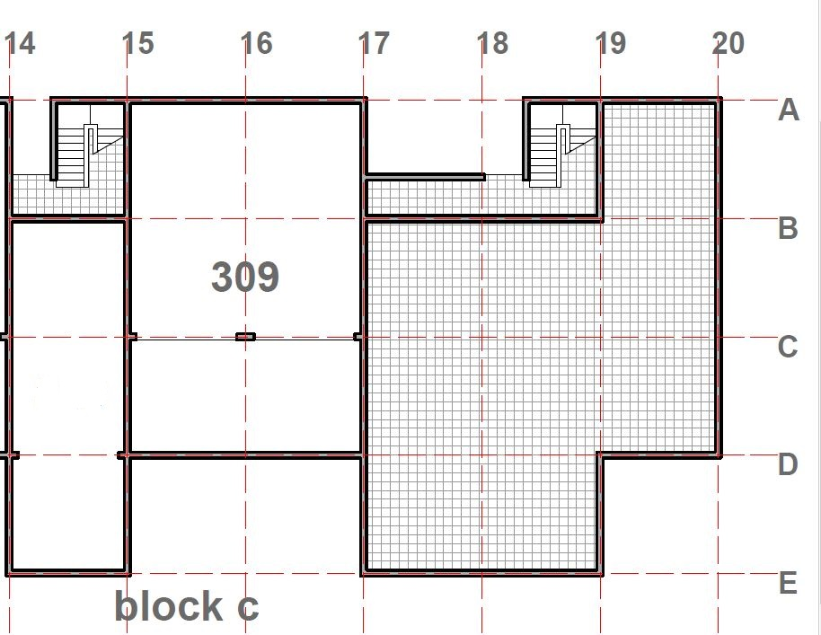 Deluxe Suite 309 Plan