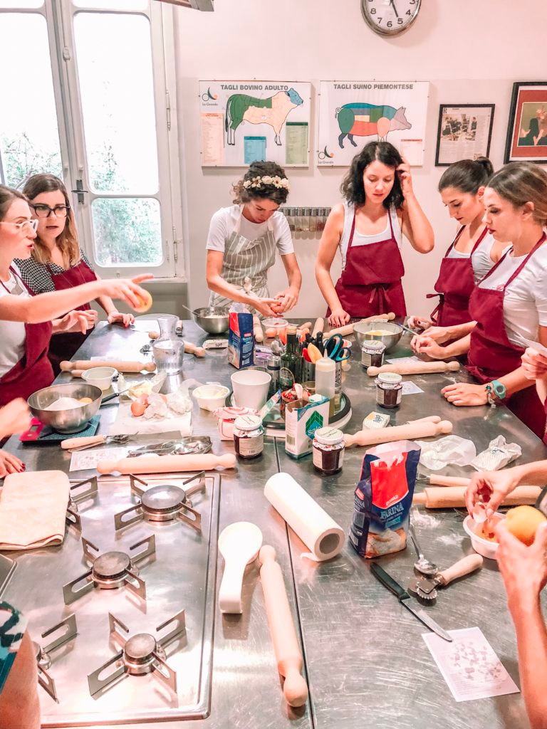 A professional chef will instruct you along all the stages of preparing an authentic Italian three-course meal including chat, laughter, and tastings of good Italian wine.